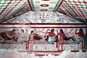 etruské maľby